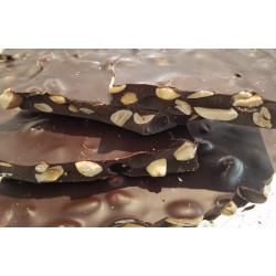 Plaques à casser chocolat noir amandes 100g
